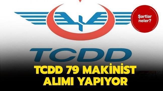 "TCDD sözleşmeli personel alımı ne zaman, şartlar neler"" TCDD 79 sözleşmeli makinist alımı yapıyor!"
