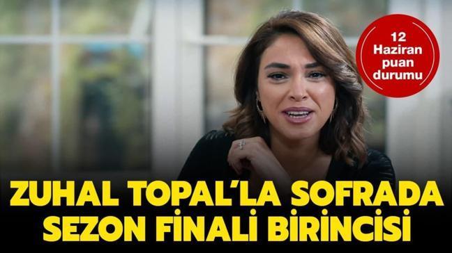 "Zuhal Topal'la Sofrada 12 Haziran birincisi ve kazananı belli oldu! Zuhal Topal'la Sofrada sezon finali birincisi kim oldu"""