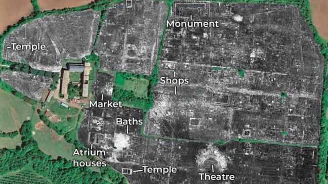 2 bin yıllık kenti radar buldu