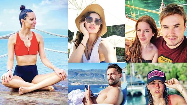 Sedef Avcı, Derya Uluğ, Mustafa Ceceli, Onur Tuna ve Emina Jahovic! Ünlülerde normalleşme tatille başladı
