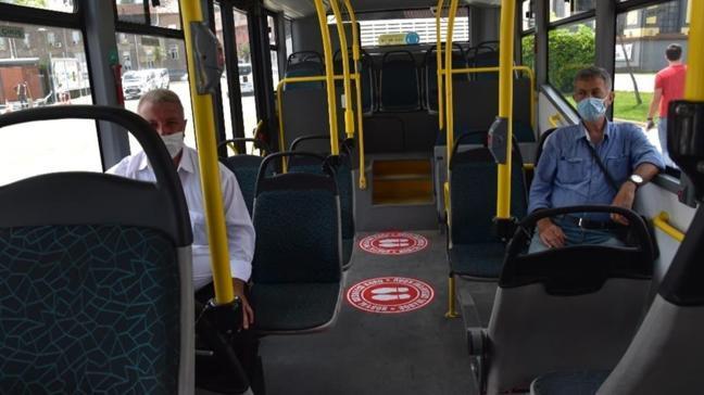 Kovid-19'a karşı toplu taşımada sıkı tedbir: Ayak butonu eklendi