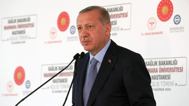 Başkan Erdoğan'dan açılış töreninde önemli açıklamalar