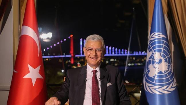 BM Genel Kurulu Başkanlığına seçilen Volkan Bozkır, BM Daimi Temsilcilerine seslendi