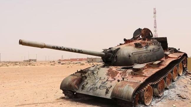 Libya ordusu: Rus uçakları Sirte'ye Suriyeli savaşçı taşıdı
