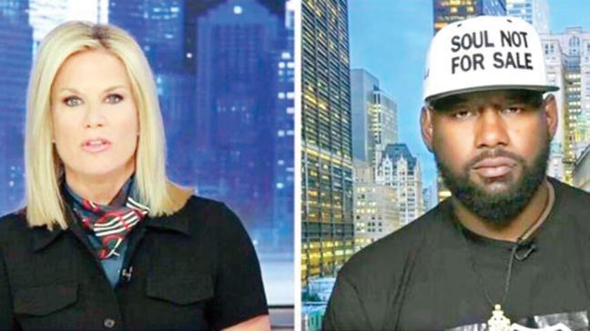 Siyahi liderden canlı yayında tehdit: Yakarız