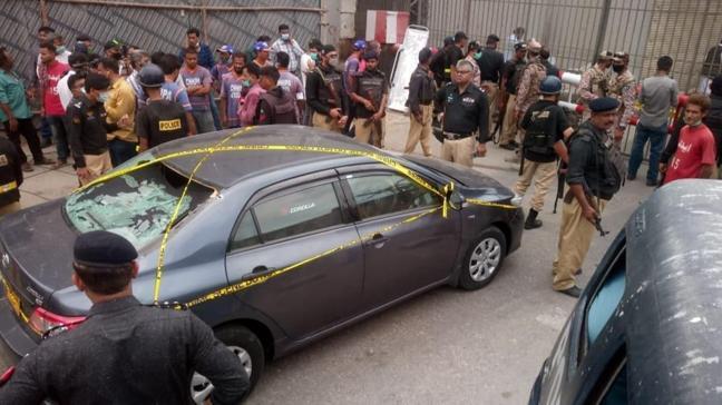 Pakistan Menkul Kıymetler Borsası'na silahlı saldırı