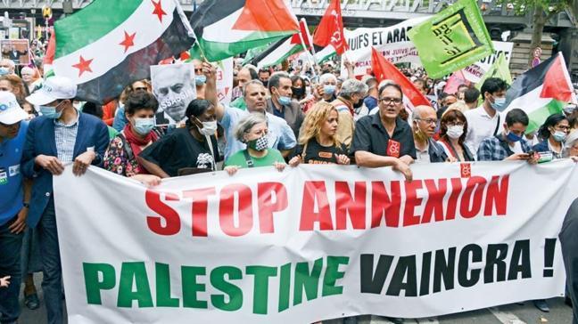 Onlarca şehir ayağa kalktı! Avrupa'da İsrail'e 'dur' protestoları