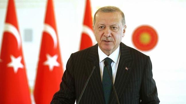 Başkan Erdoğan'ın torun sevinci