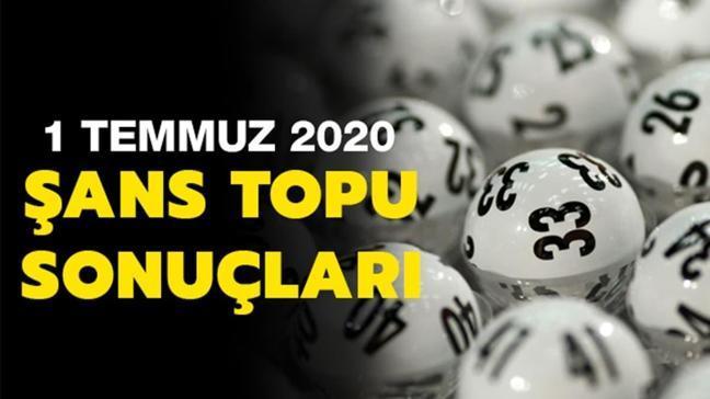 Şans Topu sonuçları 1 Temmuz 2020
