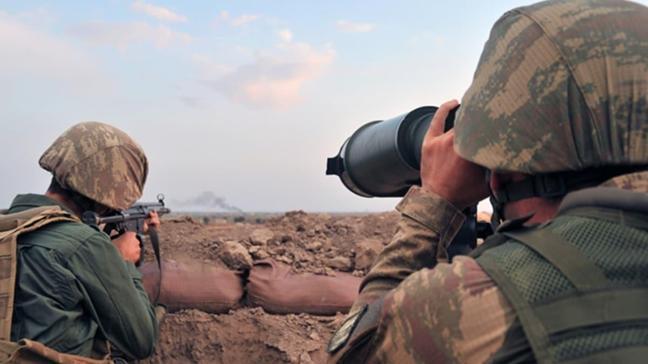 Fırat Kalkanı bölgesinde 2, Zeytin Dalı bölgesinde 2 terörist gözaltına alındı