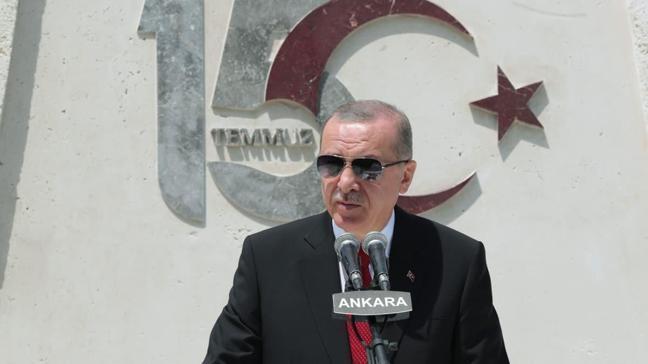 Başkan Erdoğan: Güçleri yetseydi seçilmiş tüm yöneticilerini katledeceklerdi
