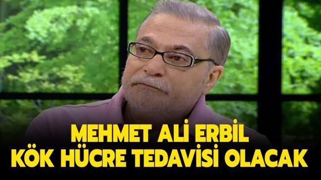 """Kök hücre nakli nedir, tedavisi nasıl yapılır"""" Mehmet Ali Erbil kök hücre tedavisi olacak!"""