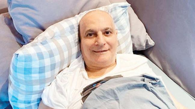 Mehmet Ali Erbil'in tedavisi başladı