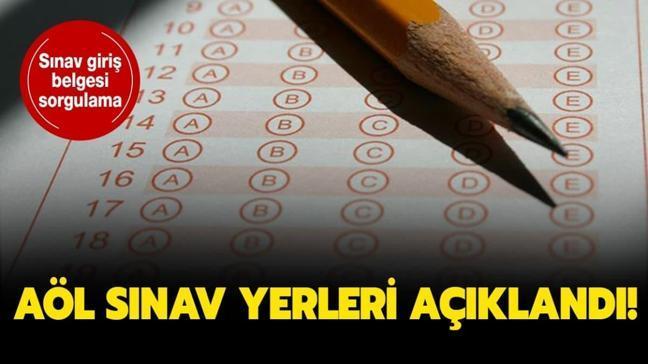 """Açıköğretim Lisesi sınav yerleri belli oldu! AÖL sınav giriş belgesi 2020 nasıl alınır"""""""