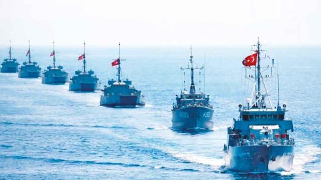 Yunan medyası panikte! Türk savaş gemileri harekete geçti
