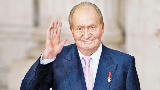Eski Kral Juan Carlos Abu Dabi'de