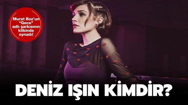 """Murat Boz'un Gece klibindeki oyuncu kimdir"""" Deniz Işın kimdir, kaç yaşında"""""""