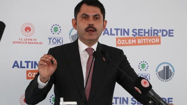 Bakan Kurum: Saraçoğlu ihalesini 1 hafta sonra yapıyoruz