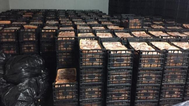 'Fakirlere dağıtacağız' deyip 41 ton et topladılar