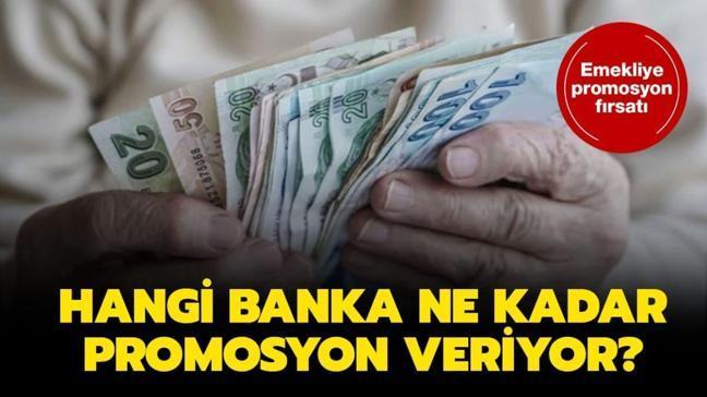 """Hangi banka ne kadar emekli maaşı promosyonu veriyor"""" Emekli promosyon ödemeleri ne zaman yapılacak"""""""