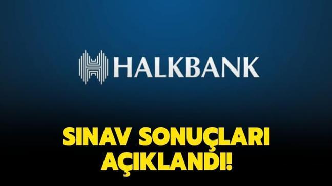 Halkbank sınav sonuçları açıklandı! Halkbank personel alımı 2020 sınav sonuç ekranı