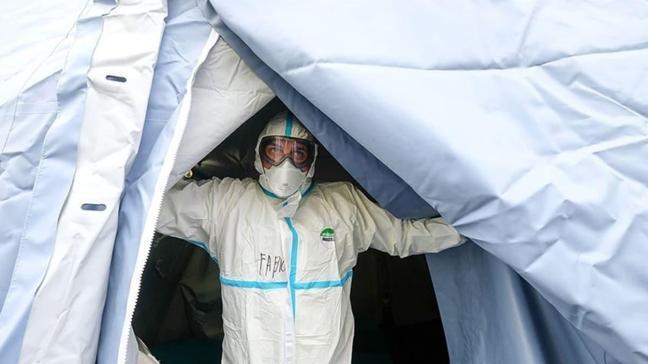 Fransa'da koronavirüs bilançosu artıyor... Ülkede son 24 saatte 8 bin 975 vaka tespit edildi!