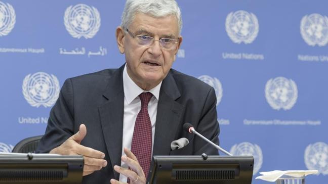 BM Genel Kurulu'nun ilk Türk başkanı Bozkır'dan Doğu Akdeniz çağrısı