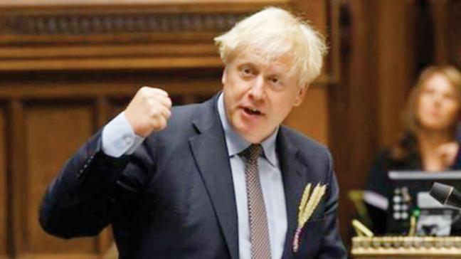 Brexit'i ihlal edecek! Boris Johnson'ın 'Beka Yasası' ilk oylamadan geçti