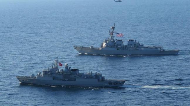 MSB duyurdu: Karadeniz'de geçiş eğitimleri icra edildi