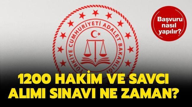 """Adalet Bakanlığı hakim savcı alımı ne zaman"""" Hakim savcı alımı başvuruları sona erdi!"""