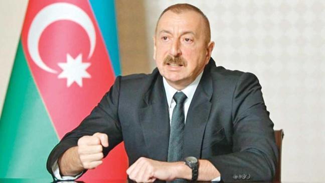 Azerbaycan Cumhurbaşkanı Aliyev: Ermenistan çekilirse savaşı durdururuz