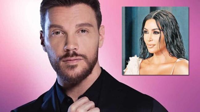 Popçu Sinan Akçıl'dan Kim Kardashian'a gönderme