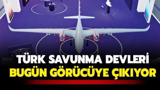 Türk savunma devleri bugün görücüye çıkıyor