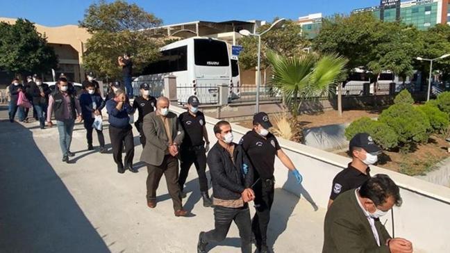 Mersin'de uyuşturucu operasyonu: 13 gözaltı