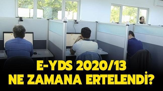 """e-YDS sınavı ertelendi mi"""" ÖSYM e-YDS 2020/13 İngilizce sınavı ne zamana ertelendi"""""""