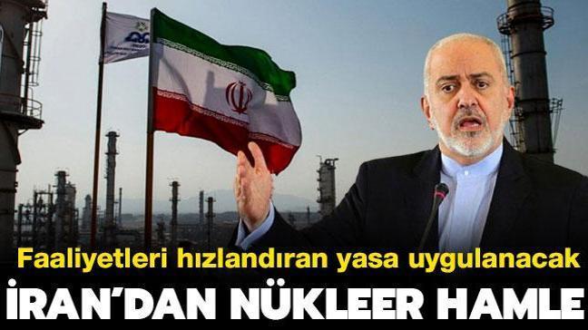 """İran'dan son dakika nükleer hamle: """"Faaliyetleri hızlandıracak yasayı uygulayacağız"""""""
