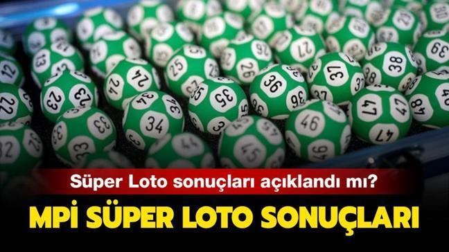 Süper Loto çekiliş sonuçları 6 Kasım 2020: Milli Piyango Süper Loto sonuçları burada!