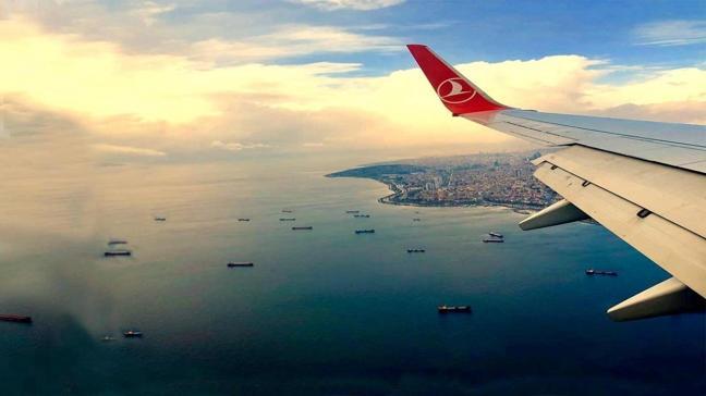 Kasımda hava yoluyla yaklaşık 6,1 milyon yolcuya hizmet verildi