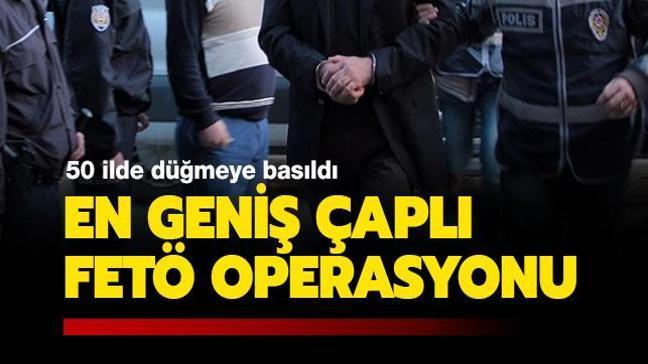 FETÖ operasyonu: 295'i muvazzaf 304 kişi hakkında gözaltı kararı
