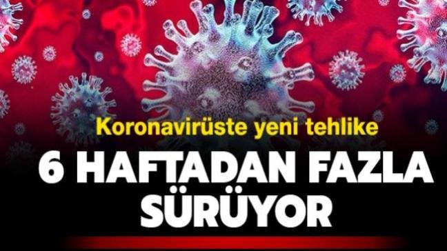 Koronavirüste yeni araştırma: Belirtileri 6 haftadan fazla sürebiliyor