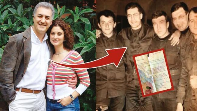 Taş fırın erkeği Tamer Karadağlı'dan eski eşi Arzu Balkan'a Osmanlıca mektup