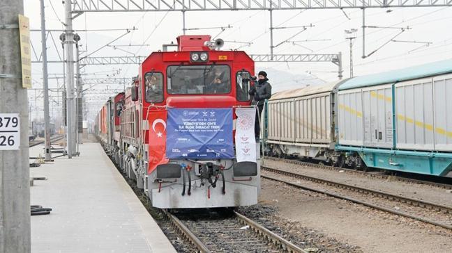 Türkiye'nin ilk ihracat treni Çin'i memnun etti
