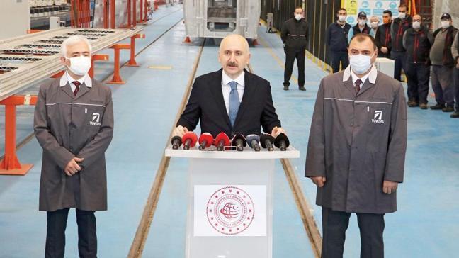 Ulaştırma ve Altyapı Bakanı Adil Karaismailoğlu: Milli elektrikli trenin seri üretimi başlıyor