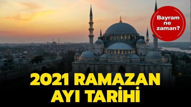 """Ramazan Bayramı ne zaman kutlanacak"""" 2021 Ramazan ne zaman"""""""