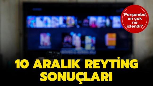 10 Aralık reyting sonuçları Sol Yanım, Alev Alev: Reyting sonuçlarına göre dün akşam en çok izlenen yapım belli oldu!
