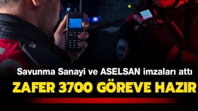 Savunma Sanayii Başkanlığı ve ASELSAN'dan dev imza! Zafer 3700 göreve hazır