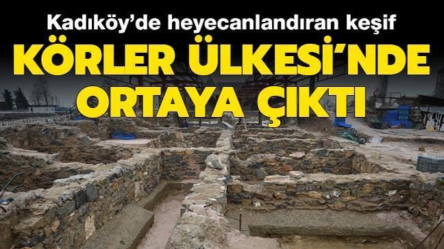 Kadıköy'de heyecanlandıran keşif: Körler Ülkesi'nde tespit edildi