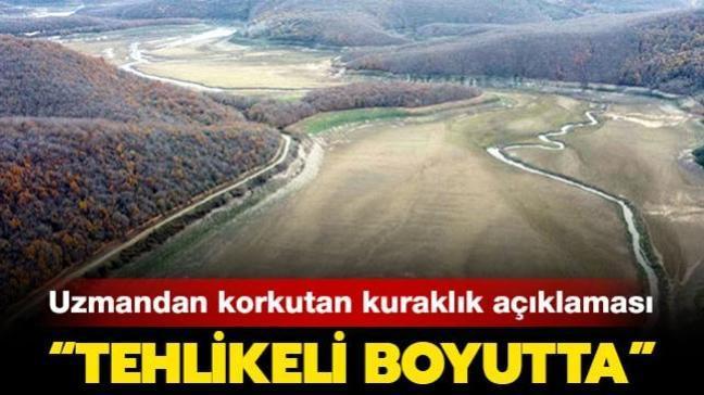 """Prof. Dr. Halim Orta'dan korkutan kuraklık açıklaması: """"Tehlikeli boyutta"""""""