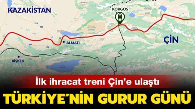 Son dakika haberi: İlk ihracat treni Çin'e ulaştı... Türkiye'nin gurur günü!