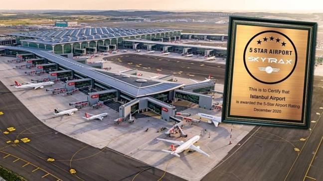 İstanbul Havalimanı'na '5 yıldız'